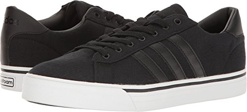 adidas Men's Cloudfoam Super Daily Shoes, Black/Black/White, (11 M US) by adidas