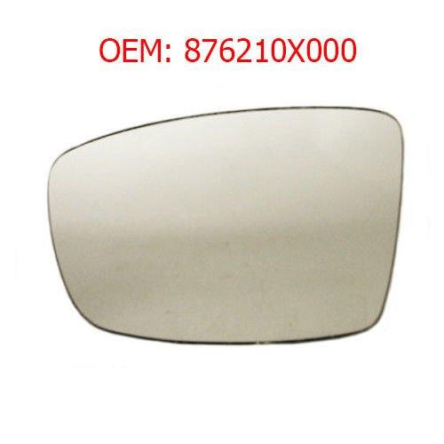 876210X000 CarJoy 650650 Au/ßenspiegel Glas Spiegelglas Links Beifahrerseite f/ür i10 08 OEM