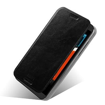 HTC Desire 610 funda, soporte Dimike Slim Flip soporte PU ...