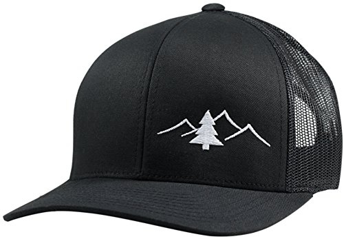 Lindo Trucker Hat - Great Outdoors Collection (Black)