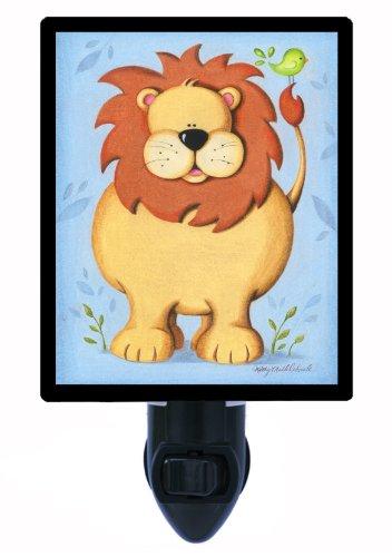 Childrens Night Light, Lions New Friend, Kids Zoo ()