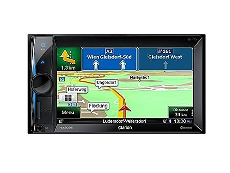Clarion NX302E - Autoradio GPS Station Multimedia 2DIN - USB/iPod/iPhone/Bluetooth - Navigation - 2012