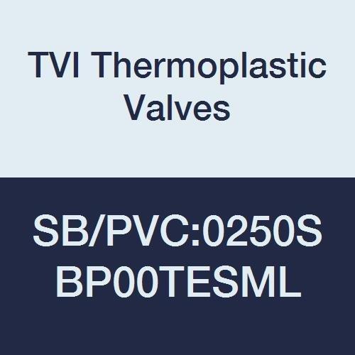 Image of TVI Thermoplastic Valves SB/PVC:0250SBP00TESML Safety Block Valve, PVC/TFE/EPDM (Seat), Socket Ends, 2 1/2' Ball Valves