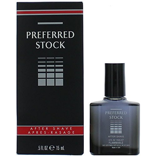Coty Preferred Stock Aftershave for Men, 0.5 Ounce