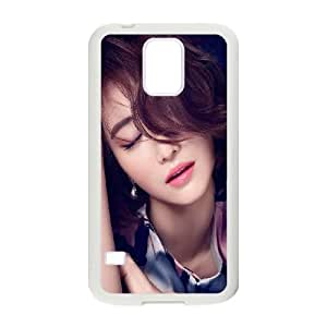Samsung Galaxy S5 Cell Phone Case White Ko Joon Hee Kpop Film Actress Closed Eyes OJ559030