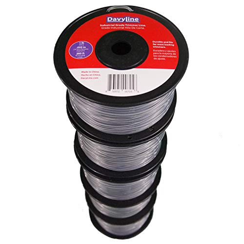 5-Lb of DavyLine Heavy Duty Dual Color Trimmer Line .095 in