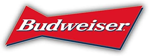Any Size Budweiser Genuine King of Beer Bud Red Vinyl Decal wrap Stickers Drink 9 in Budweiser Label Sticker Logo