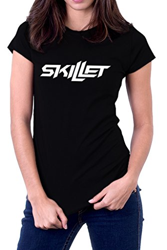Skillet Band Logo Comatose Awake Alternative Women's (Alternative Band T-shirts)