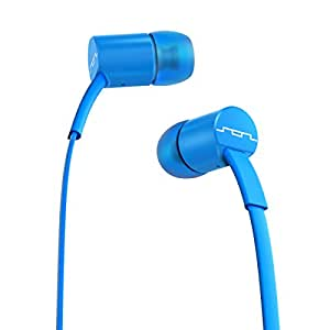 SOL REPUBLIC 1111-36 JAX In-Ear Headphones with 3-Button Mic and Music Control - Blue/Stellar