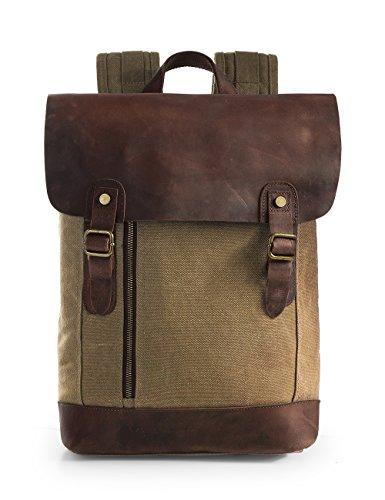 ECOSUSI Vintage Backpack Daypacks Recreation product image