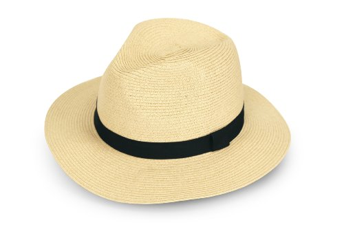 Sunday Afternoons Havana Hat, Cream, (Mens Straw Hat)