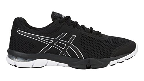 ASICS S705N Women's Gel-Craze TR 4 Shoe, Black/Silver/White