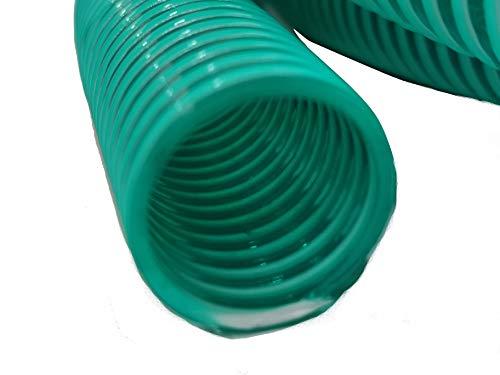 41CmeB9vjoL Hero Spiralschlauch Saugschlauch Druckschlauch Förderschlauch 25 mm Grün/Transparent 10 Meter