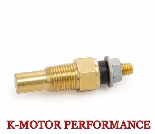 WATER COOLANT OIL TEMP TEMPERATURE 1/8 NPT ELECTRICAL SENDER SENDING SENSOR (Coolant Temperature Sender)