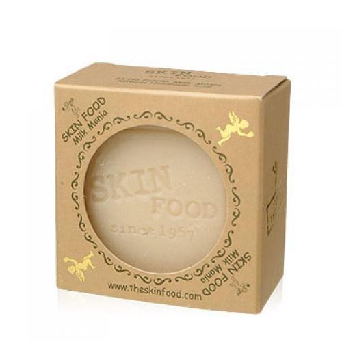 SKINFOOD-milk-mania-handmade-mature-soap-Korean-Beauty-Imported