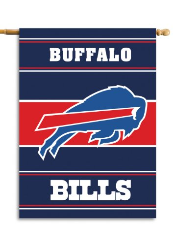 Fremont Die NFL Buffalo Bills 2-Sided 28-by-40-Inch House ()