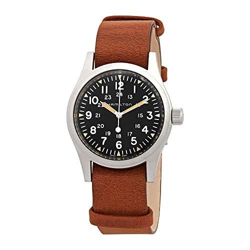Hamilton H69439531 Khaki Field Men's Watch Brown 38mm Stainless Steel