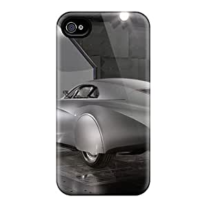 Snap-on Case Designed For Iphone 4/4s- Bmw Mille Miglia Concept Rear Angle