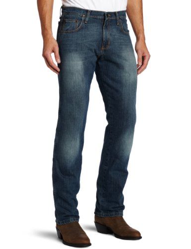 Jeans Faded Leg (Wrangler Men's Retro Slim Fit Straight Leg Jean Rocky Top,34x36)