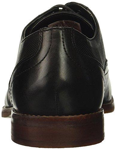Cap Toe Style Perf Men's Rockport Leather Black Shoe Purpose TqxIXfwU4