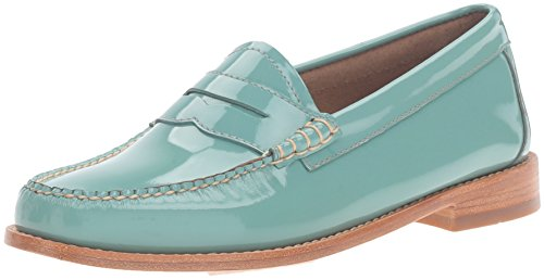 G.H. Bass & Co. Women's Whitney Penny Loafer, Sky Blue, 8.5 M US by G.H. Bass & Co.