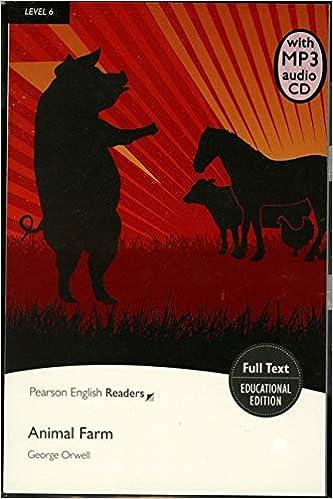 Level 6: Animal Farm Book & MP3 Pack Pearson English Graded ...