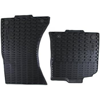 Amazoncom Genuine Audi Accessories R Black Rubber - Audi 90 car mats