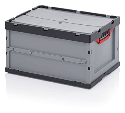 Caja Plegable con Tapa 60 x 40 x 32 cm, ...