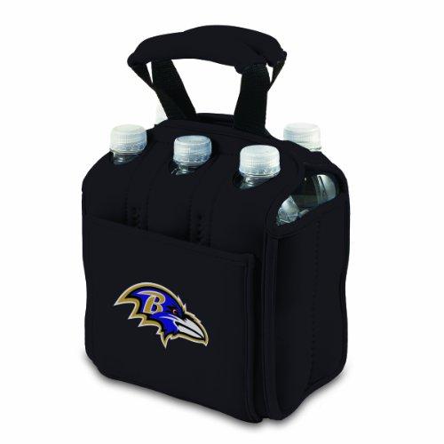 NFL Baltimore Ravens Six Pack Cooler Tote