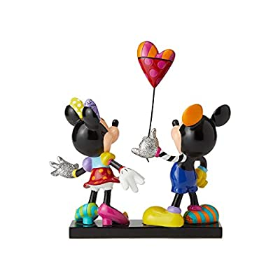 Enesco Disney by Britto Mickey and Minnie Collectible Figurine