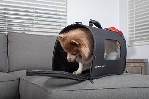 Hyper Pet Soft-Sided Travel Bag Dog Carrier (Collapsible Dog Carrying Bag – Available in Small and Medium Sizes)