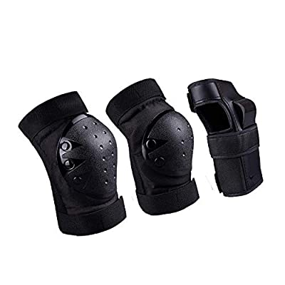 DIYUSI Kids & Adults Knee and Elbow Pads with Wrist Guards Protective Gear Set : Health & Personal Care