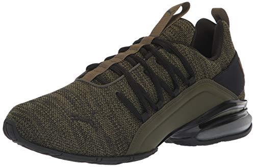 PUMA Men's Axelion Sneaker, Forest Night Black, 9.5 M US