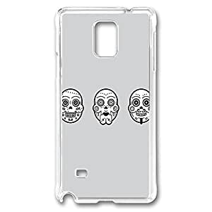 Day Of The Dead Polycarbonate Hard Case Cover for samsung note 4 Transparent by runtopwellby Maris's Diary