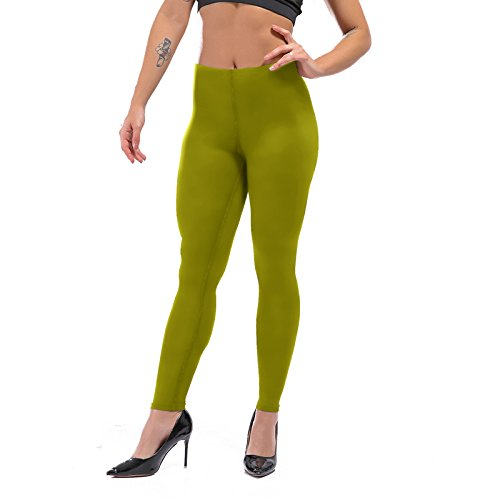 H.coosy practical;cozy Pure color black yoga pants tight leggings sports fitness pants Europe and the United States women sexy was thin mention hip pants Army green - H Macys