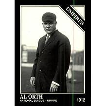 1994 Conlon TSN Baseball Card #1192 Albert Orth Near Mint/Mint