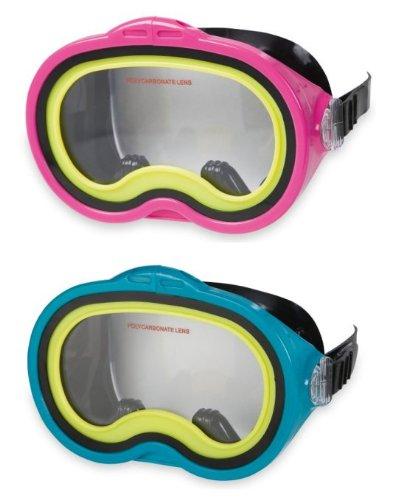 (Mask Swim Sea Scan Assrtd 3-10, Pack of 2 )