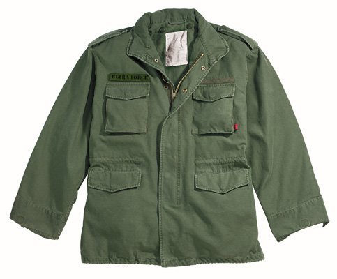 8603 Ultra Force Olive Drab Vintage M-65 Jacket ()