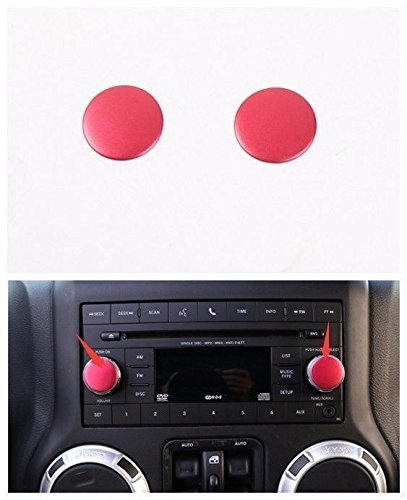 Pulidi Car Aluminum CD Switch KnobDecorative