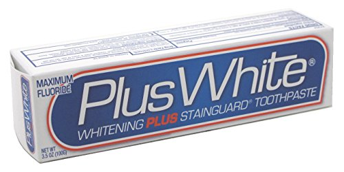 Price comparison product image Plus White Toothpaste Plus White/ Stainguard 3.5 Ounce (103ml) (3 Pack)