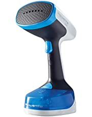 Rowenta DR8180 Handheld Steamer with Retractable Cord, Blue