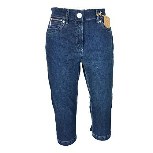 Zerres 68 Donna Darkblue Jeans Capri rt71qwrU