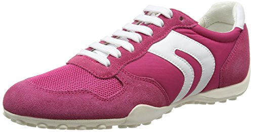 Geox D Snake a, Zapatillas para Mujer Rosa (PINKC8004)
