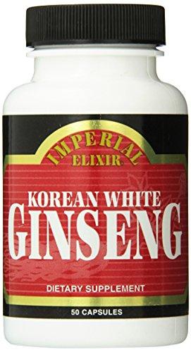 (Imperial Elixir Korean White Ginseng, 500 Mg, 50 Count )
