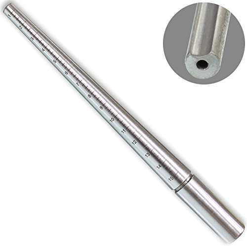 Top Quality Solid Steel Ring Mandrel Sizes (Grooved Ring Design)