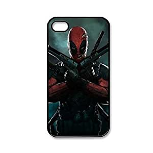 Mini - Dead Pool Pattern Plastic Hard Case for iPhone 4/4S