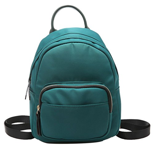 Bag School Shoulder Casual Bookbags Rucksack Tote Mini Travel Nylon Bag Black Travel Shoulder Backpack Bag Small Blue Women Kofun 1xvqOzv6