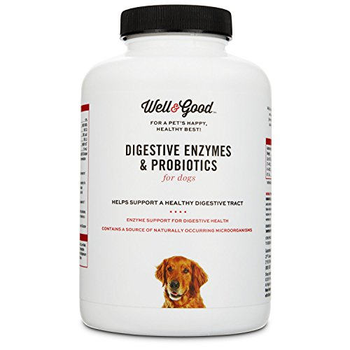 Well & Good Digestive Enzymes & Probiotics Dog Tablets, 90 count