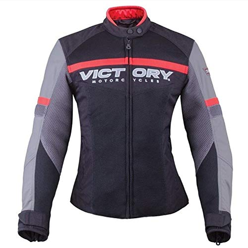 Victory Motorcycle New Women's Skyline Mesh Riding Jacket, Medium, 286373703