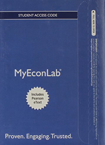 NEW MyLab Economics with Pearson eText -- Access Card -- for International Economics